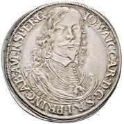 1 Thaler - Johann Weikhard – obverse