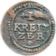 1 Kreuzer - Heinrich V. von Knörringen (Kipper) – reverse