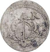 ½ Kreuzer - Heinrich V. von Knöringen – obverse