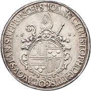 1 Thaler - Johann Christoph von Freyberg-Allmendingen – obverse