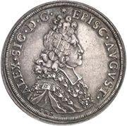 ½ Thaler - Alexander Sigismund von Pfalz-Neuburg – obverse
