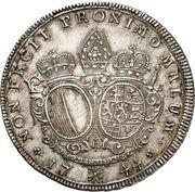 ½ Thaler - Joseph Ignaz Philipp von Hessen-Darmstadt – reverse