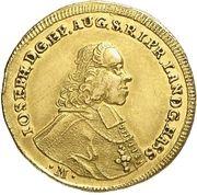 1 Ducat - Joseph Ignaz Philipp von Hessen-Darmstadt – obverse