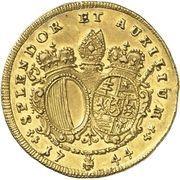 1 Ducat - Joseph Ignaz Philipp von Hessen-Darmstadt – reverse