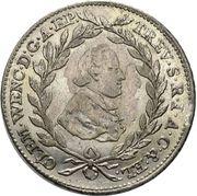 20 Kreuzer - Clemens Wenzeslaus von Sachsen – obverse