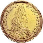 10 Ducat - Alexander Sigismund von Pfalz-Neuburg – obverse