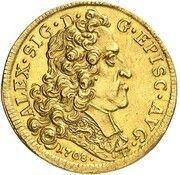 2 Ducat - Alexander Sigismund of Palatinate-Neuburg – obverse