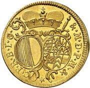 2 Ducat - Alexander Sigismund of Palatinate-Neuburg – reverse