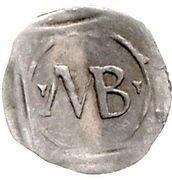 1 Pfennig - Friedrich III. von Hohenzollern – reverse