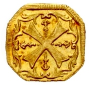 1 Heller (Gold pattern strike) -  reverse