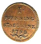 1 Pfenning – reverse