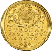 1 Ducat (Coronation) – obverse