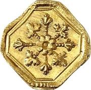 1 Heller (Gold pattern strike) – reverse