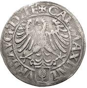 1 Batzen - Eberhard IV – reverse