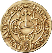 1 Goldgulden - Eberhard IV. von Eppstein-Königstein-Rochefort – obverse