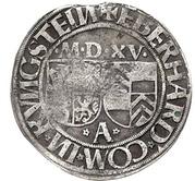 1 Batzen - Eberhard IV von Eppstein-Königstein – obverse