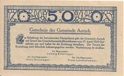 50 Heller (Aurach) – reverse