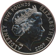 5 Pounds - Elizabeth II (Mini) -  obverse