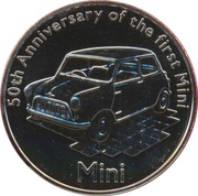 5 Pounds - Elizabeth II (Mini) -  reverse