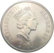 5 Pounds - Elizabeth II (The Rocket) -  obverse