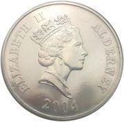 5 Pounds - Elizabeth II (The Royal Scot) -  obverse