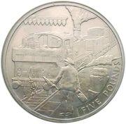 5 Pounds - Elizabeth II (Branchline) -  reverse