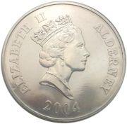 5 Pounds - Elizabeth II (Preparing the Loco) -  obverse