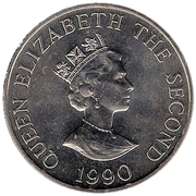 2 Pounds - Elizabeth II (Queen Mother's 90th Birthday) -  obverse