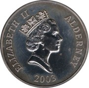 5 Pounds - Elizabeth II (Prince William) -  obverse