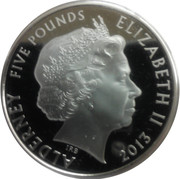 5 Pounds - Elizabeth II (Changing of the Guard) -  obverse