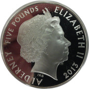 5 Pounds - Elizabeth II (The Silver Jubilee) -  obverse