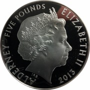5 Pounds - Elizabeth II (The Colours) – obverse
