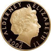 5 Pounds - Elizabeth II (Queen Elizabeth II; Gold Proof Issue) -  obverse