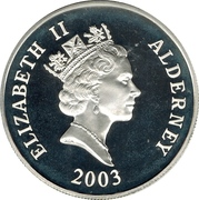 5 Pounds - Elizabeth II (The Mary Rose) -  obverse