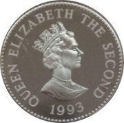 1 Pound - Elizabeth II (Coronation Jubilee) – obverse