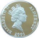 1 Pound - Elizabeth II (Queen Elizabeth II) – obverse