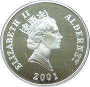5 Pounds - Elizabeth II (Queen Elizabeth II) -  obverse