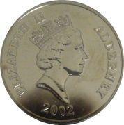 5 Pounds - Elizabeth II (Duke of Wellington) -  obverse