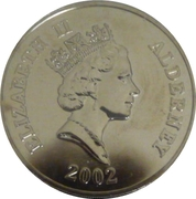 5 Pounds - Elizabeth II (The Work Continues) -  obverse