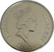 5 Pounds - Elizabeth II (Mary Rose) -  obverse