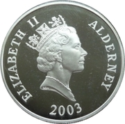 5 Pounds - Elizabeth II (Alfred the Great) -  obverse