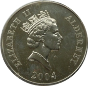 5 Pounds - Elizabeth II (D-Day) -  obverse