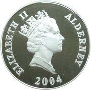 5 Pounds - Elizabeth II (H.M.S. Revenge) -  obverse