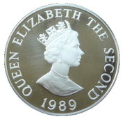 2 Pounds - Elizabeth II (Royal Visit; Silver Proof Issue) – obverse