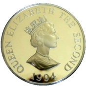 2 Pounds - Elizabeth II (D-Day; Silver Issue) – obverse