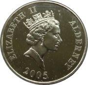 5 Pounds - Elizabeth II (Battle of Trafalgar) -  obverse
