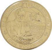 5 Pounds - Elizabeth II (John Woodward) -  reverse