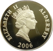 5 Pounds - Elizabeth II (Train on Viaduct) -  obverse