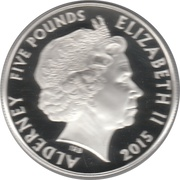 5 Pounds - Elizabeth II (Remembrance Day) -  obverse