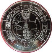 5 Pounds - Elizabeth II (1966 FIFA World Cup) -  reverse